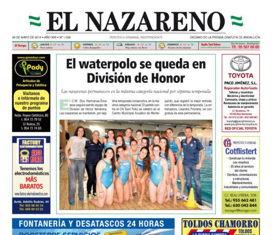 Periódico El Nazareno De Dos Hermanas Nº 1029