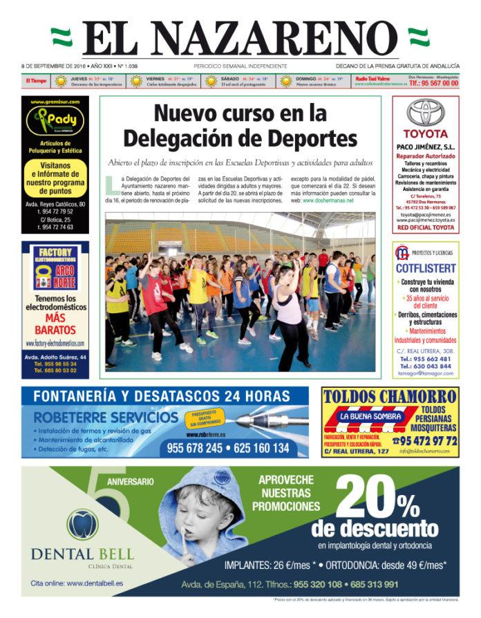 Periódico El Nazareno de Dos Hermanas nº 1038