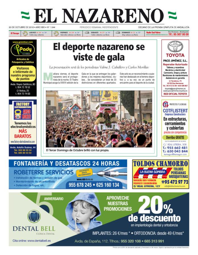 Periódico El Nazareno de Dos Hermanas nº 1044