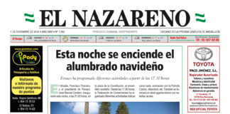 Periódico El Nazareno nº 1050 de 1 de diciembre de 2016