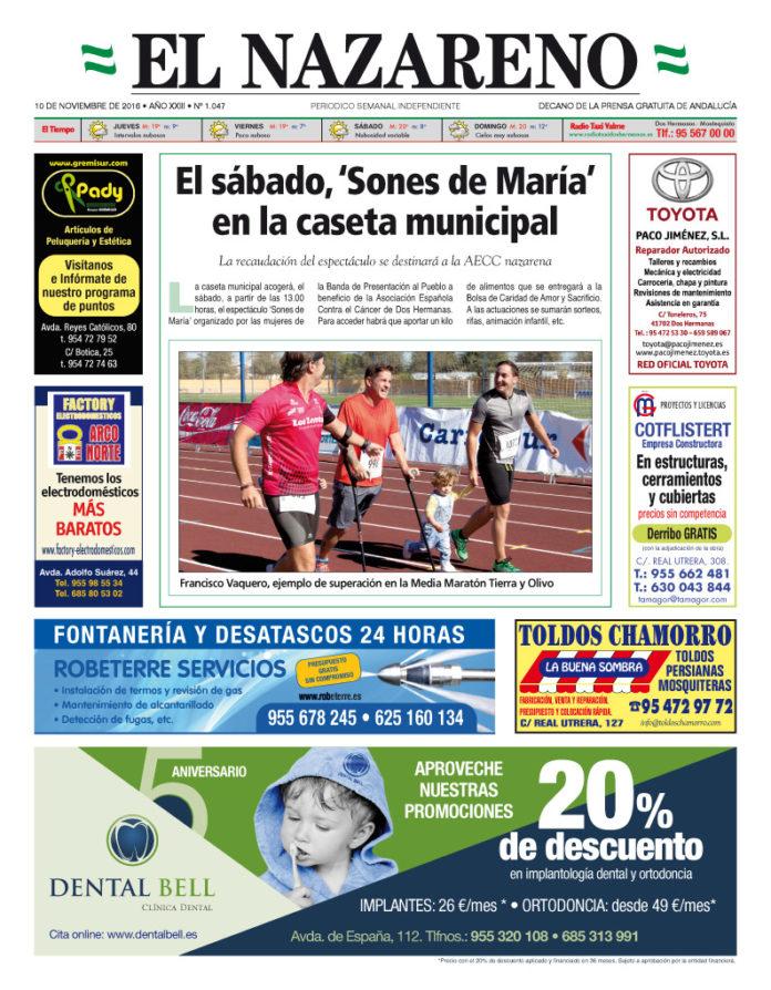 Periódico El Nazareno De Dos Hermanas Nº 1047
