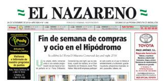 Periódico El Nazareno nº 1049 de 24 de noviembre de 2016