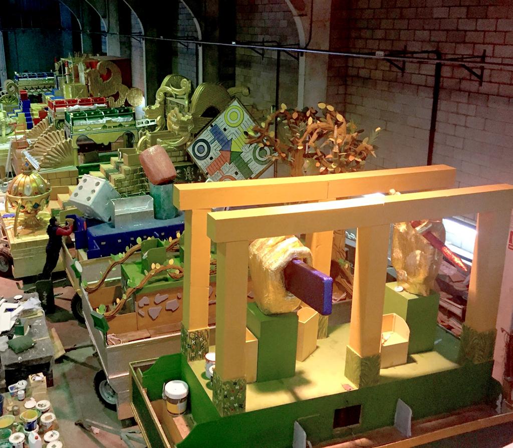 Carrozas De Reyes Magos Fotos.Exposicion De Carrozas De La Cabalgata De Reyes Magos