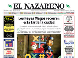 Periódico El Nazareno nº 1054 de 5 de enero de 2017