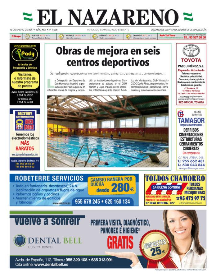 Periódico El Nazareno nº 1056 de 19 de enero de 2017