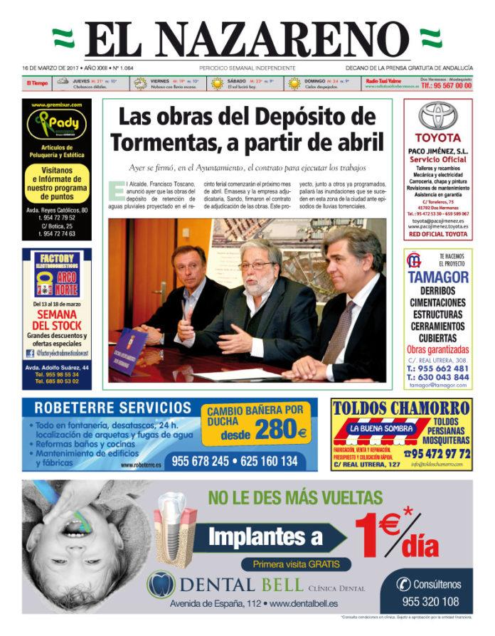 Periódico El Nazareno nº 1064 de 16 de marzo de 2017