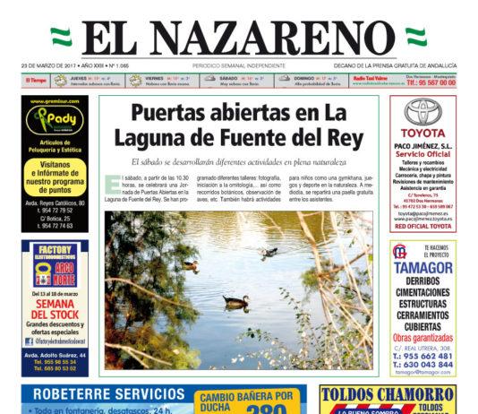 Periódico El Nazareno nº 1065 de 23 de marzo de 2017