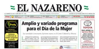Periódico El Nazareno nº 1062 de 2 de marzo de 2017