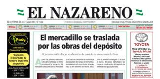Periódico El Nazareno nº 1066 de 30 de marzo de 2017