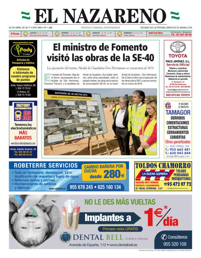 Periódico El Nazareno nº 1069 de 20 de abril de 2017