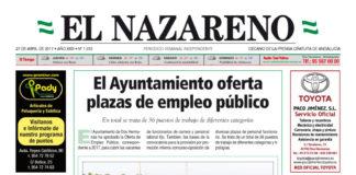 Periódico El Nazareno nº 1070 de 27 de abril de 2017