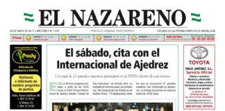 Periódico El Nazareno nº 1074 de 25 de mayo de 2017