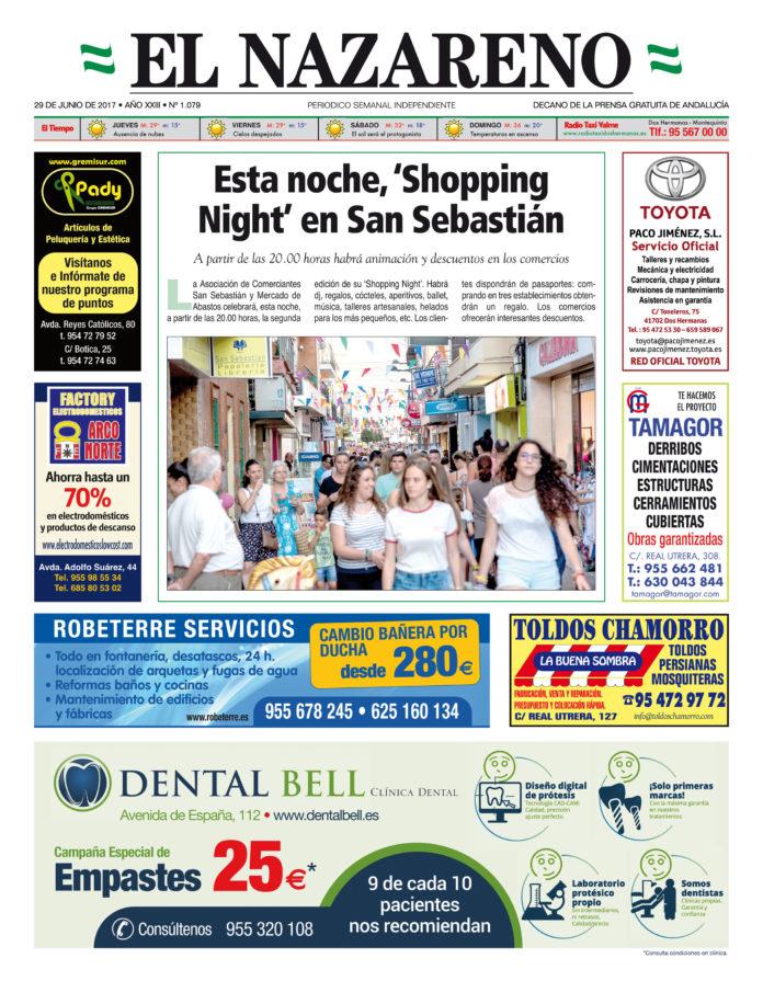 Periódico El Nazareno nº 1079 de 29 de junio de 2017