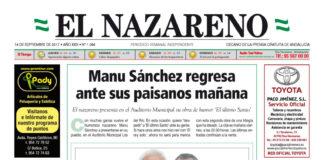 Periódico El Nazareno nº 1084 de 14 de septiembre de 2017