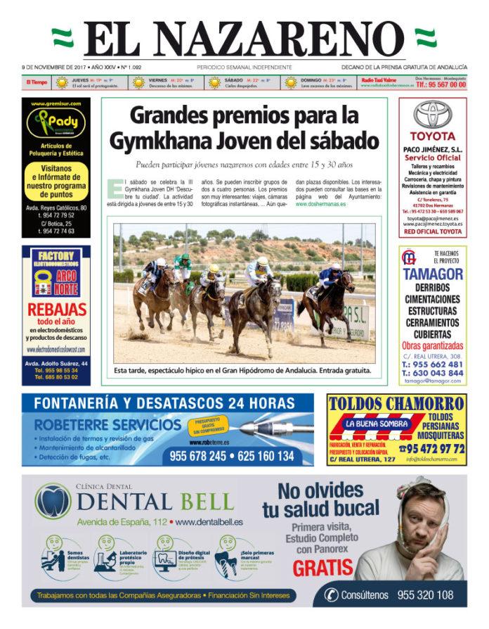 Periódico El Nazareno nº 1092 de 9 de noviembre de 2017