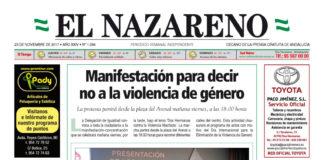 Periódico El Nazareno nº 1094 de 23 de noviembre de 2017