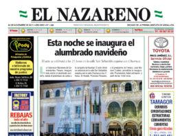 Periódico El Nazareno nº 1095 de 30 de noviembre de 2017