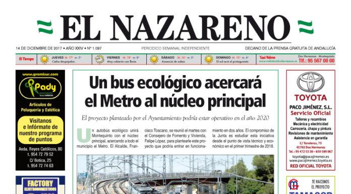 Periódico El Nazareno nº 1097 de 14 de diciembre de 2017