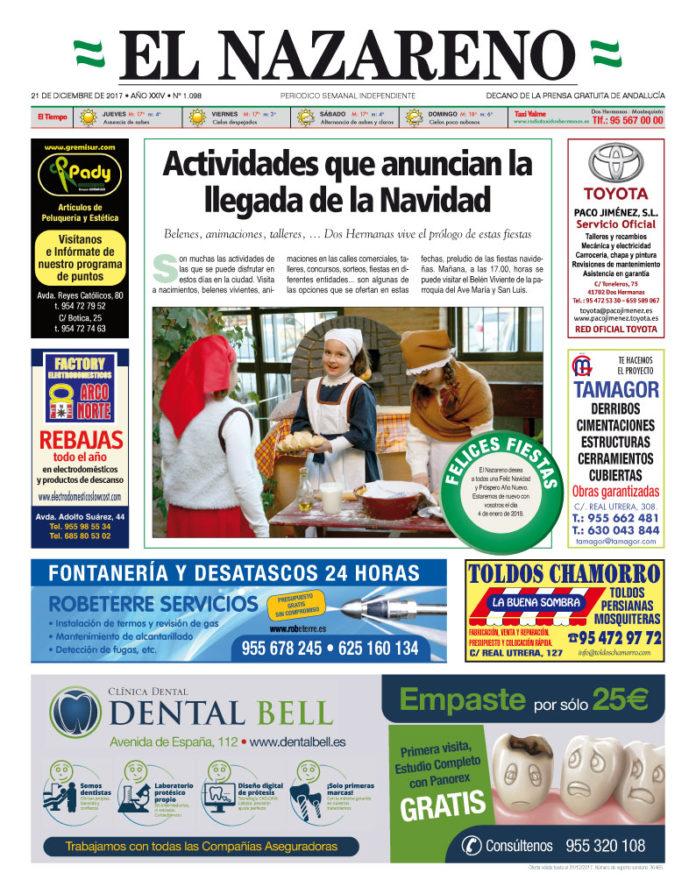 Periódico El Nazareno nº 1098 de 21 de diciembre de 2018