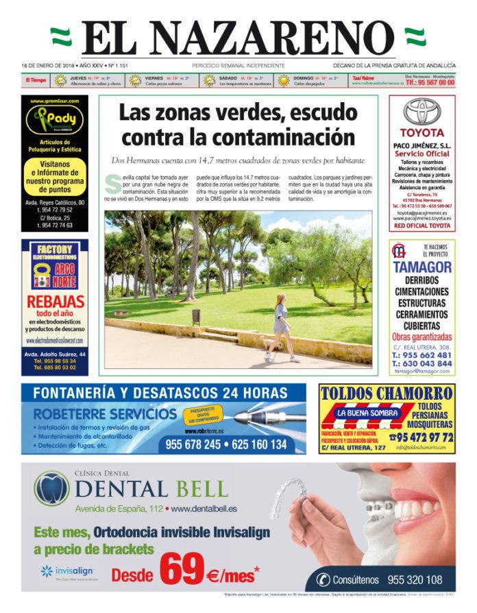 Periódico El Nazareno nº 1.101 de 18 de enero de 2018