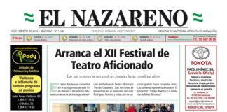 Periódico El Nazareno nº 1.105 de 15 de febrero de 2018