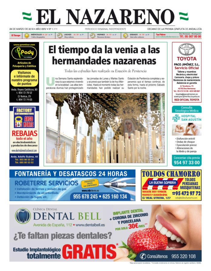 Periódico El Nazareno nº 1.111