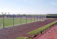 pistas de atletismo del Estadio Municipal Manuel Utrilla