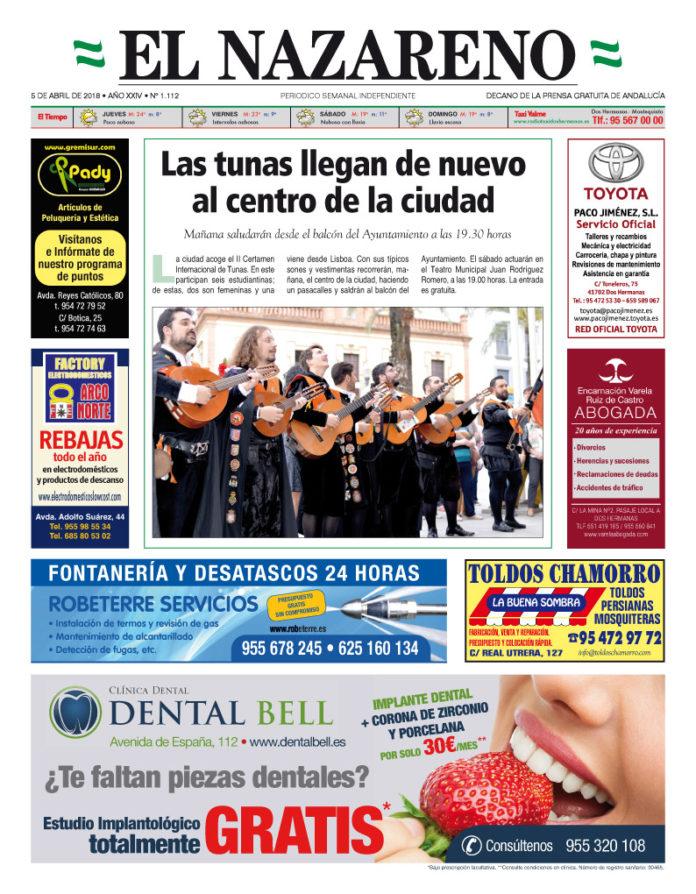 Periódico El Nazareno nº 1.112