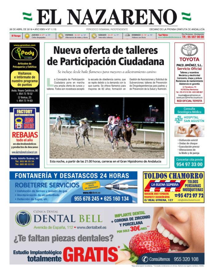 Periódico El Nazareno nº 1.115