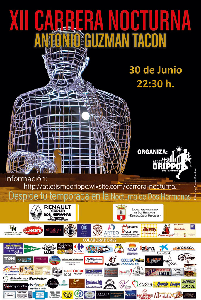XII Carrera Nocturna Antonio Guzmán Tacón