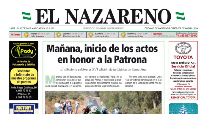 Periódico El Nazareno nº 1.127