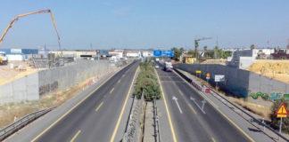 la autovía Sevilla–Utrera
