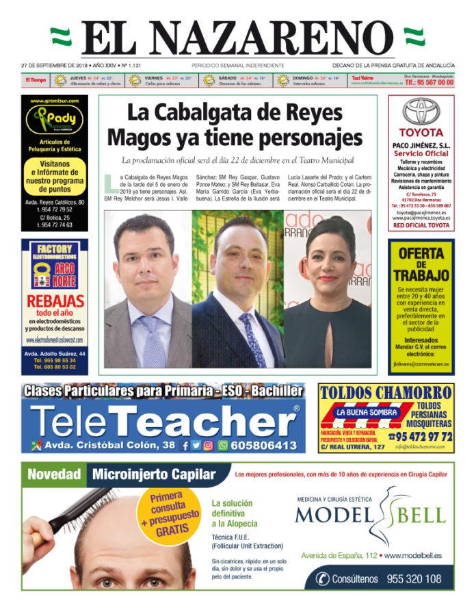 Periódico El Nazareno nº 1.131