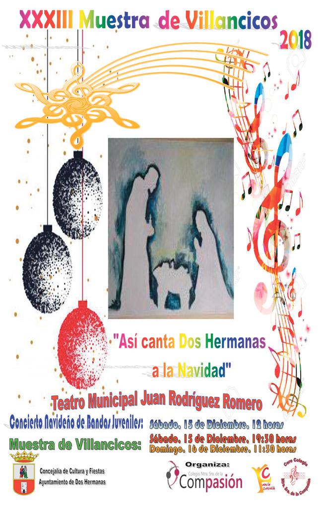 'Así canta Dos Hermanas a la Navidad'