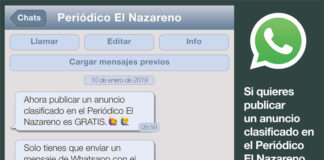 anuncios clasificados en El Nazareno