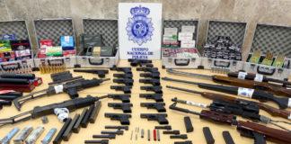 tráfico de armas en Dos Hermanas