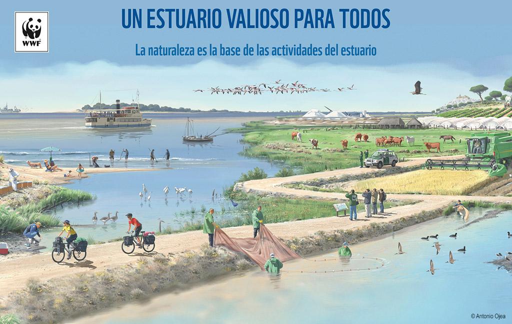 Resultado de imagen de Entremareas. La importancia del estuario del Guadalquivir DOS HERMANAS