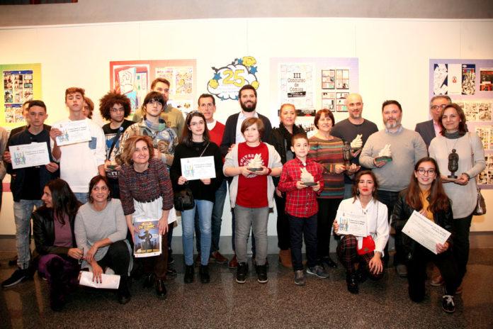 premios del XXV Concurso de Cómic