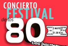 invitaciones para el 'Festival de los 80'