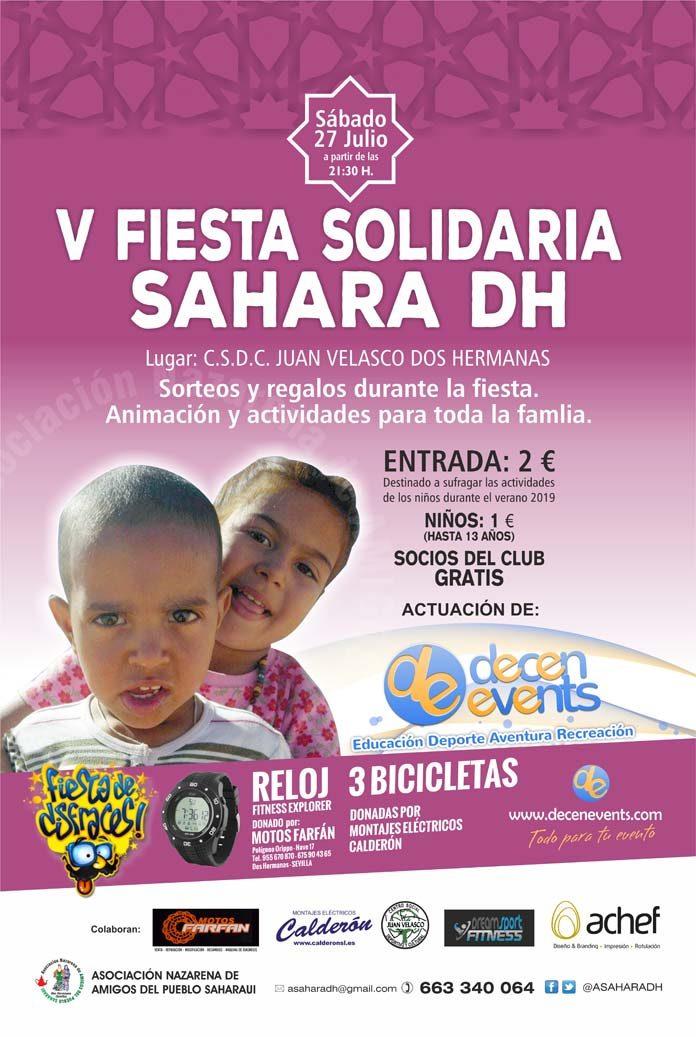 Fiesta Solidaria Sáhara DH