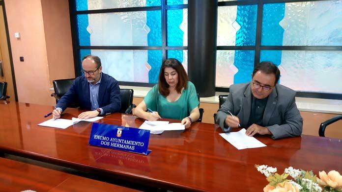 Ayuntamiento nazareno y la UPO