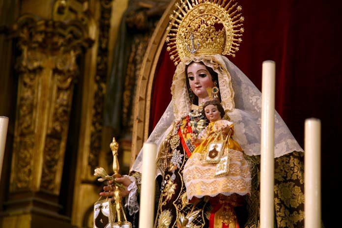 Virgen del Carmen en Dos Hermanas