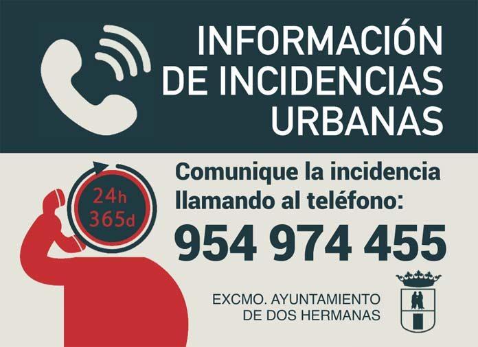 El Teléfono de Incidencias Urbanas
