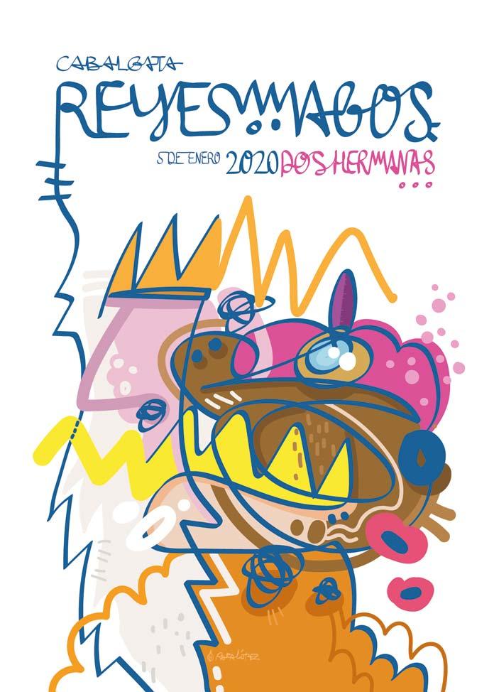 El cartel de Reyes Magos 2020
