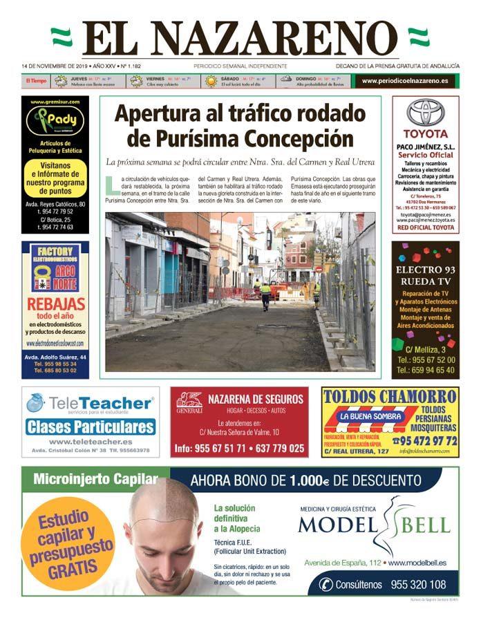 Periódico El Nazareno nº 1.182