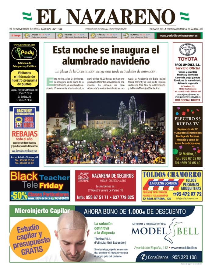Periódico El Nazareno nº 1.184