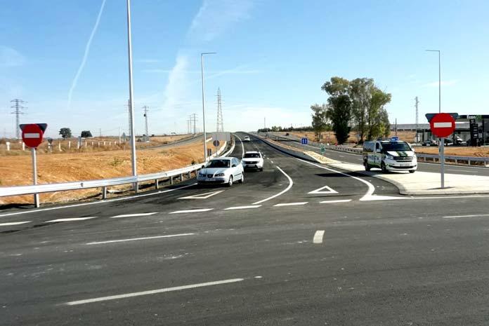 La carretera autonómica A-392