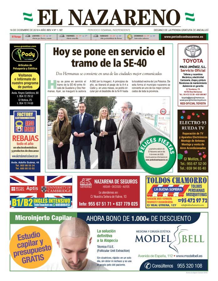 Periódico El Nazareno nº 1.187