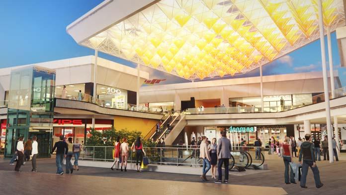 segunda fase del Centro Comercial WAY