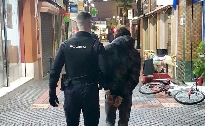 amenazas a dos policías locales